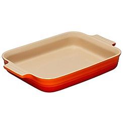 Le Creuset - Volcanic stoneware 32cm rectangular dish