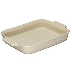 Le Creuset - Almond stoneware 32cm rectangular dish