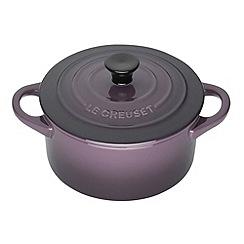 Le Creuset - Cassis stoneware 14cm round casserole