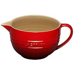 Le Creuset - Cerise stoneware mixing jug