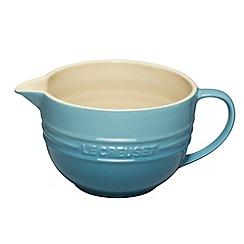 Le Creuset - Teal stoneware mixing jug