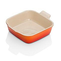 Le Creuset - Volcanic stoneware 23cm square dish