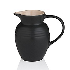 Le Creuset - Satin black breakfast jug