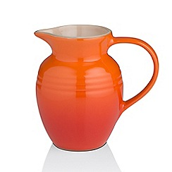 Le Creuset - Volcanic orange breakfast jug
