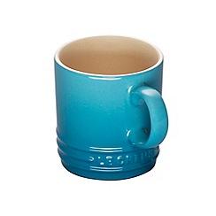 Le Creuset - Teal stoneware espresso mug