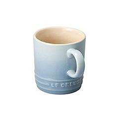Le Creuset - Coastal blue stoneware espresso mug
