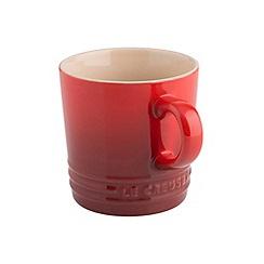 Le Creuset - Cerise stoneware 200ml cappuccino mug