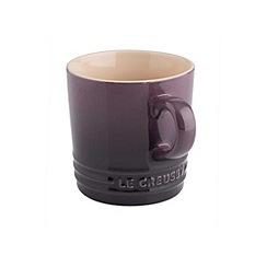 Le Creuset - Cassis stoneware 200ml cappuccino mug