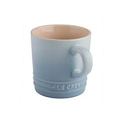 Le Creuset - Coastal blue stoneware 200ml cappuccino mug