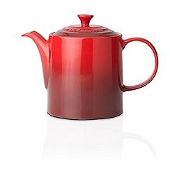 Le Creuset - Cerise stoneware grand teapot