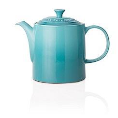 Le Creuset - Teal stoneware grand teapot