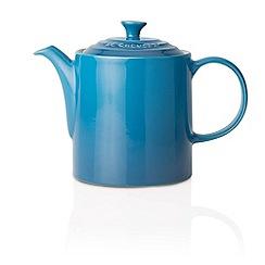 Le Creuset - Marseille blue stoneware grand teapot