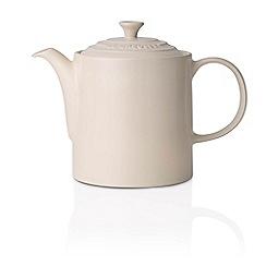 Le Creuset - Almond stoneware grand teapot