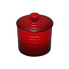 Le Creuset - Cerise stoneware 0.8L storage jar