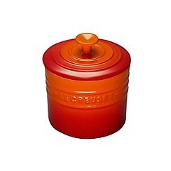 Le Creuset - Volcanic stoneware 0.8L storage jar