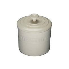 Le Creuset - Almond stoneware 0.8L storage jar
