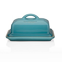 Le Creuset - Teal stoneware butter dish