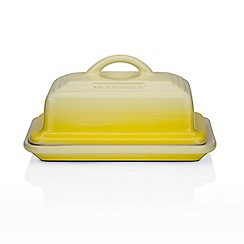 Le Creuset - Soleil yellow butter dish