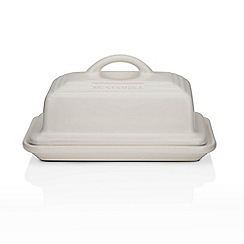 Le Creuset - Almond stoneware butter dish