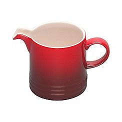 Le Creuset - Cerise stoneware milk jug