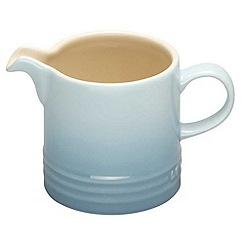 Le Creuset - Coastal blue stoneware milk jug