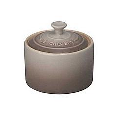 Le Creuset - Nutmeg stoneware sugar bowl