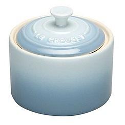 Le Creuset - Coastal blue stoneware sugar bowl