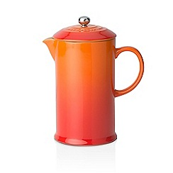Le Creuset - Volcanic stoneware coffee pot and press