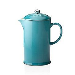 Le Creuset - Coffee Pot & Press Teal
