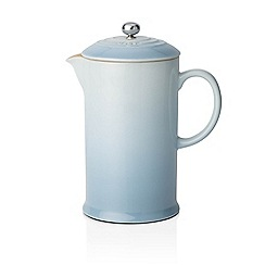 Le Creuset - Coastal blue stoneware coffee pot and press