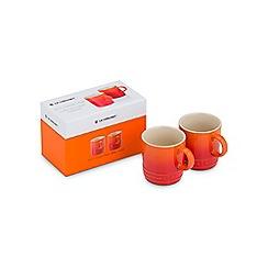 Le Creuset - Set of 2 Espresso Mugs Volcanic