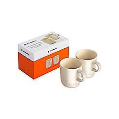 Le Creuset - Set of 2 Espresso Mugs Almond