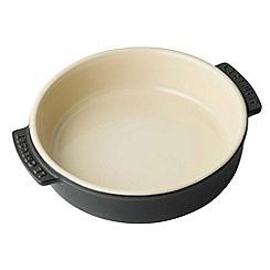 Le Creuset - Satin black stoneware 14cm tapas dish