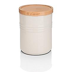 Le Creuset - Med Storage Jar with Wood Alm