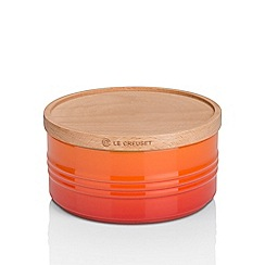 Le Creuset - Lar Storage Jar with Wood Vol
