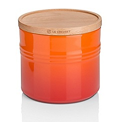 Le Creuset - XL Storage Jar with Wood Vol