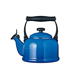 Le Creuset - Marseille blue traditional kettle