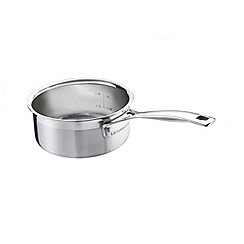 Le Creuset - 3-ply Stainless Steel 16cm open sauce pan