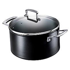 Le Creuset - Toughened non-stick 20cm deep casserole