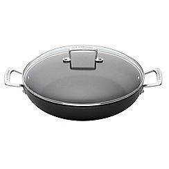 Le Creuset - Toughened Non-Stick 24cm shallow casserole