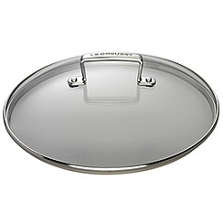 Le Creuset - Toughened Non-Stick 26cm glass lid