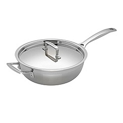Le Creuset - 3-ply Stainless Steel 24cm non-stick chefs pan
