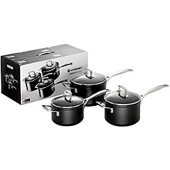 Le Creuset - Toughened Non-Stick 3 saucepan set
