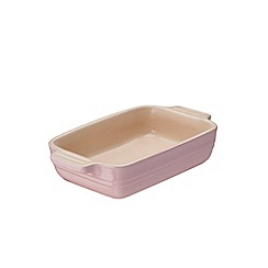 Le Creuset - Stoneware Chiffon Pink Rectangle Dish 18cm