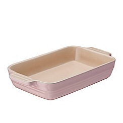 Le Creuset - Stoneware Chiffon Pink Rectangle Dish 26cm