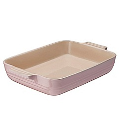 Le Creuset - Stoneware Chiffon Pink Rectangle Dish 32cm