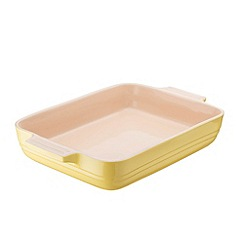 Le Creuset - Stoneware Elysees Yellow Rectangle Dish 32cm