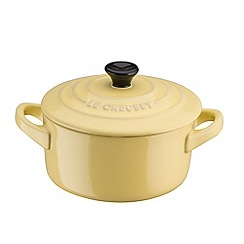 Le Creuset - Petite Elysees Yellow Round Casserole