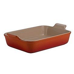 Le Creuset - Volcanic stoneware 26cm deep rectangular dish