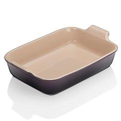 Le Creuset - Cassis stonewarei deep Rect Dish 32cm